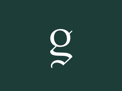 G (wip) type typography lettering logo letter design graphic design green branding blackletter didone icon g wip