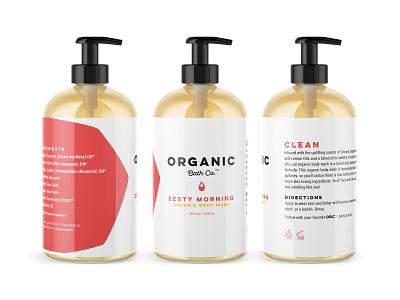 Organic Bath Co Packaging bodycare packagingdesign packagedesign packaging design