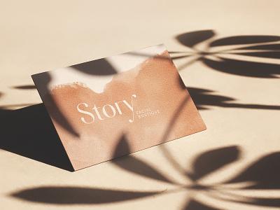 Story Business Cards business card logo branding