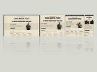 My responsive portfolio site