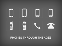Phones Through The Ages