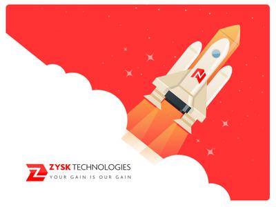 IT Service company logo and website design