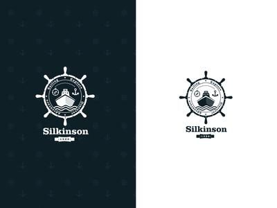 Sail Brand, Anchor, Ship, Marine Logo design
