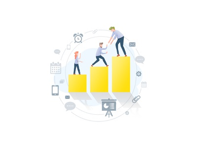 Community People Illustration Analytics Insights Graphs branding design art analytics chart insights analytics flat people community icons design flat art people illustration illustration art illustration people mutual funds collaboration achievements goal