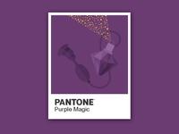 PANTONE OBJECTS – Purple Magic