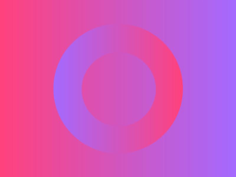 Brand New Logo for Loop brand branding design visual identity software lxp learning branding saas purple gradient purple pink circle logo loop