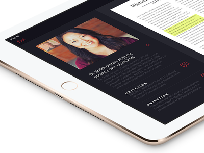 Product Mockup in an iPad Air 2