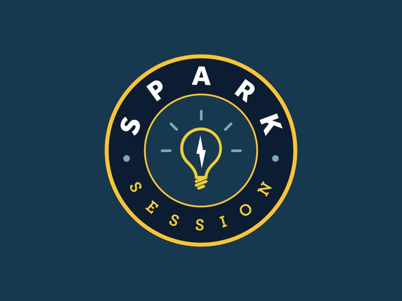 Spark Session Badge logo badge session spark