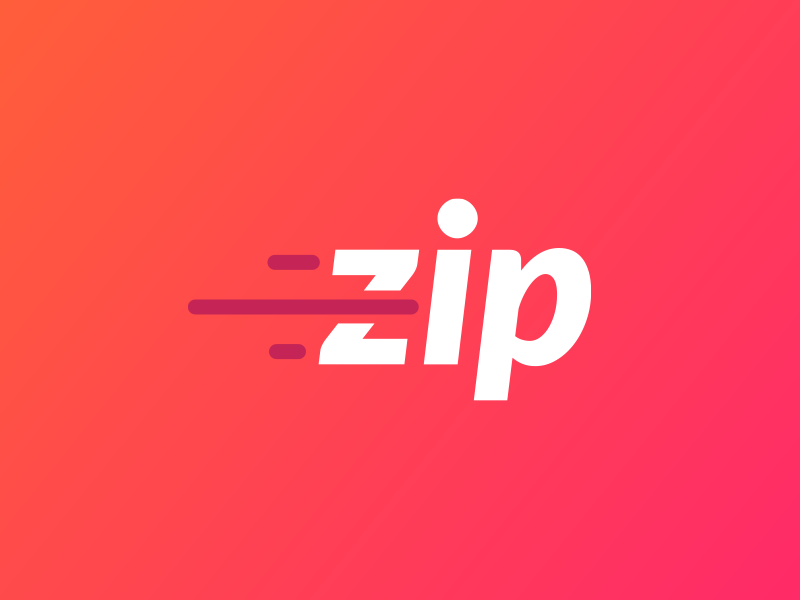 Zip Logo elearning logo zip