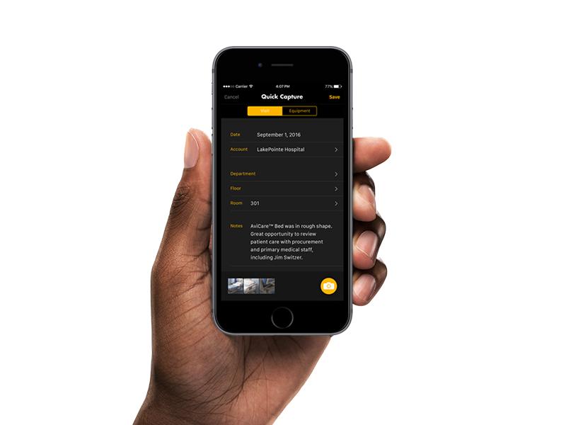 Quick Capture forms survey camera app iphone