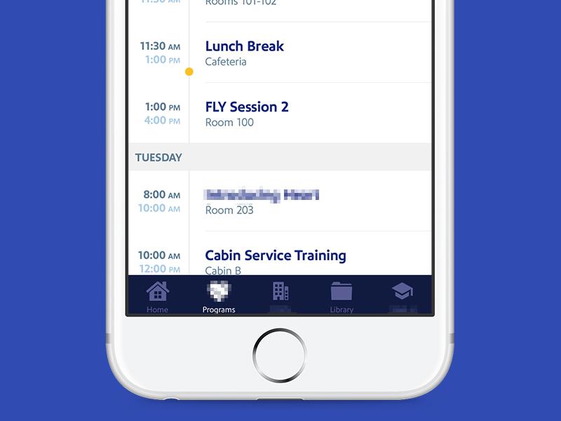 Onboarding Agenda marker time onboarding iphone agenda