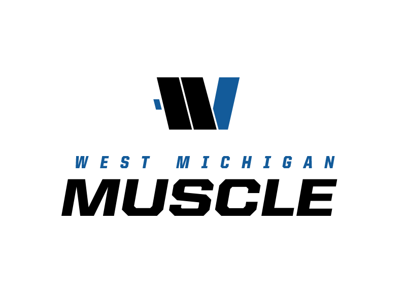 Weightlifting Logo rejected michigan muscle weightlifting logo