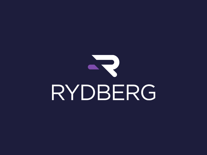 Rydberg Technologies Logo science atoms quantum purple accepted logo