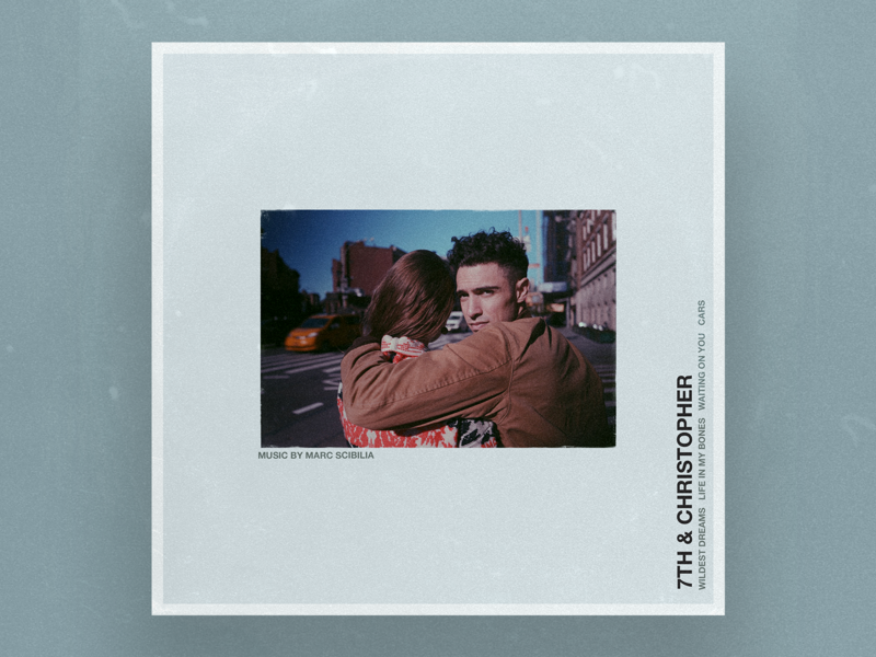 7th & Christopher EP and Singles by Marc Scibilia musician blue nashville nyc new york marc ep album artwork music cover art album art