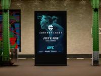 Cortney Casey Subway Ad