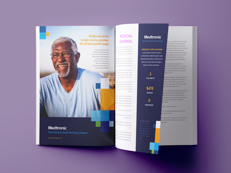 Medtronic - The Perfect Graft Ad Concept by Zach DeYoung for
