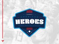 USWNT - American Heroes Badge