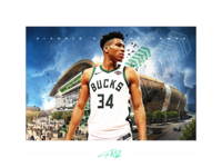 Giannis - Framed Print