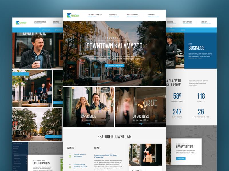 Downtown Kalamazoo Website