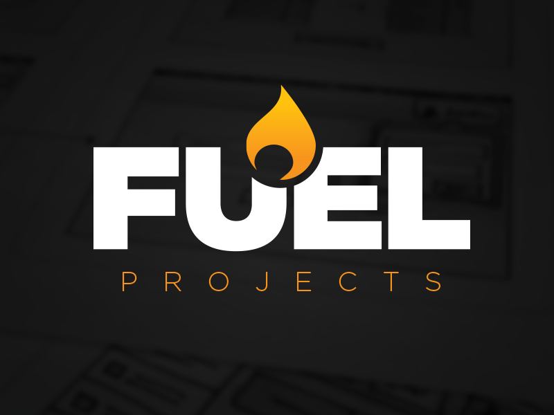 FUEL Projects logo fuel flame maestro