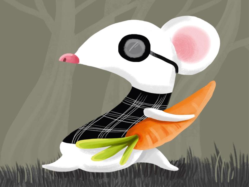 Three Blind Mice: 1 nursery rhyme painting children illustration art three blind mice mouse kids children digital art photoshop digital illustration