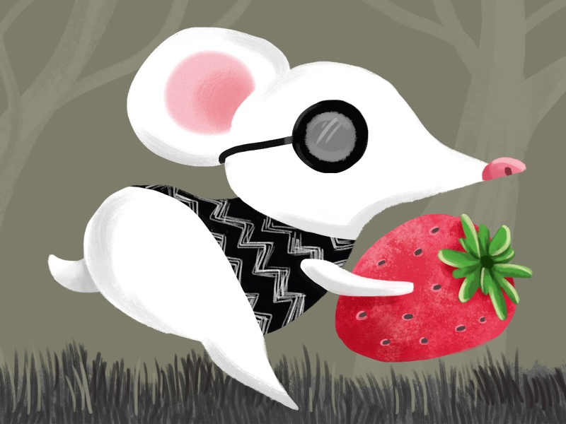 Three Blind Mice: 2 nursery rhyme painting children illustration art three blind mice mouse kids children digital art photoshop digital illustration