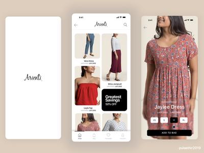 Fashion E Commerce Mobile UI
