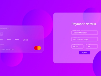 Credit Card checkout page vector ui typography illustration icon design app logo branding graphic design