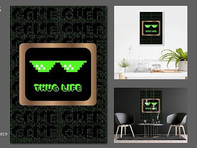 DEVICE hacker thematrix matrix awesome cool thug life game gaming gamer instagram design poster art