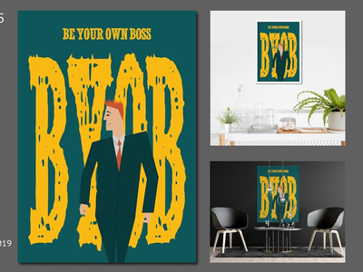 OWNER beer byob trend latest new amazing cool awesome boss business poster abstract art