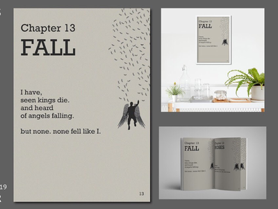 CHAPTER literature poem good great amazing cool new new design book spread book cover book poster art