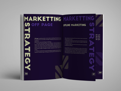 MARKETING client project live cool new booklet book magazine profile print dribbble poster art