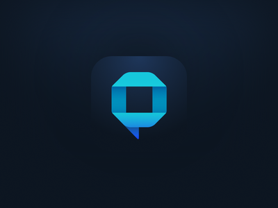 Opineys icon opineys icon ios app opinion bubble chat