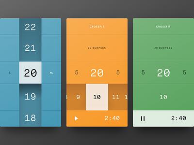 Tempus App tempus app time selector picker timer