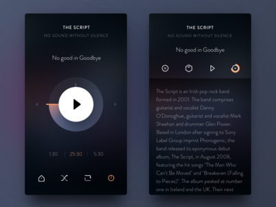 New Cassette app ui music