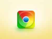 Chrome iOS Icon