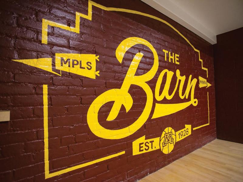 Barn mural