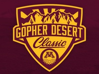 Gopher Desert Classic Logo
