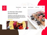 Desserts Blog Project