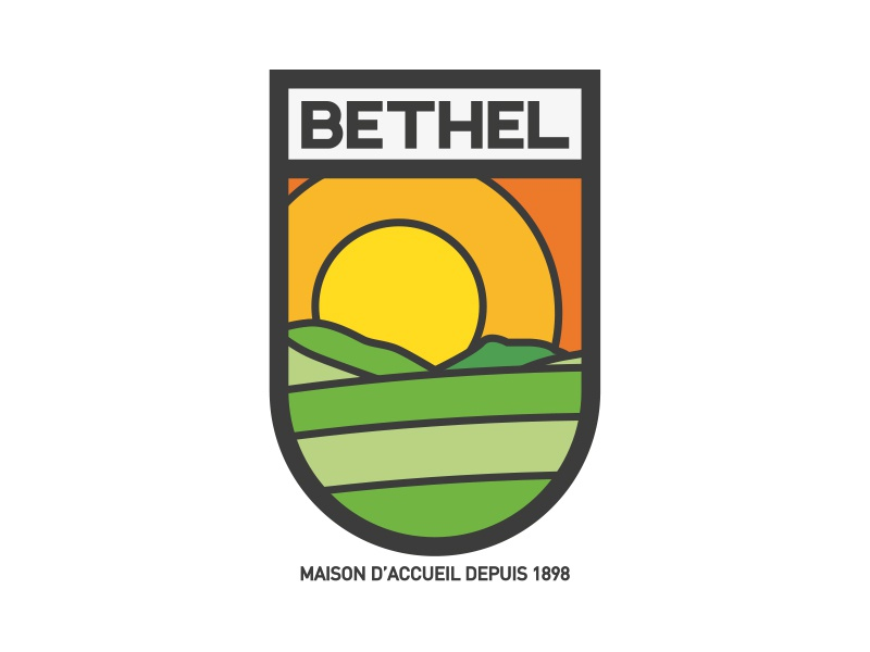 Logo Bethel green bethel house vintage oldshcool valley sun country