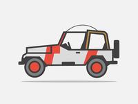 Jeep Jurrassic Parck