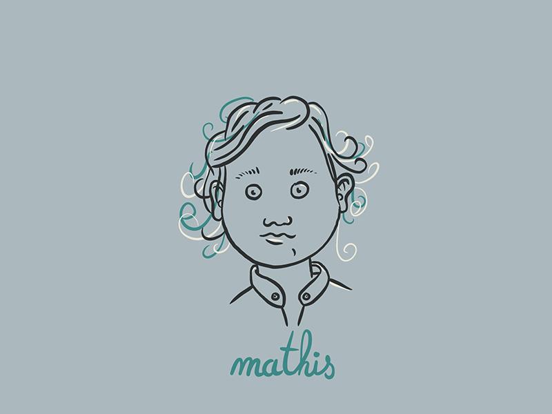 Mathis app web vector branding drawing draw design icons icon logotype logodesigner illustration logodesign illustrator logo