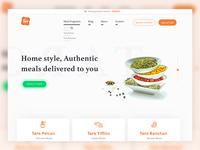 Taro Food Delivery Website