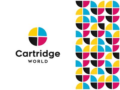 Logo Animation — Cartridge World ink cartridge animated logo animation branding brand logotype logo