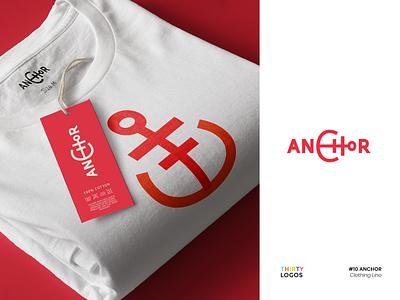 Thirty Logos Challenge 10 — Anchor clothing brand anchor thirty logos challenge thirtylogos branding brand logotype logo