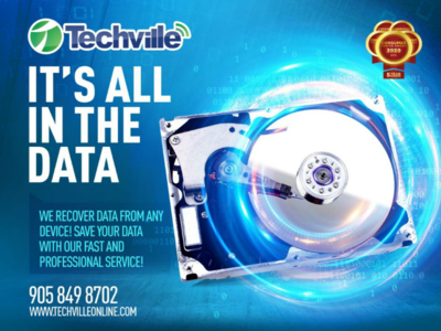 Data Recovery Keyvisual (campaign)