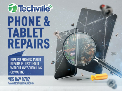 Phone & Tablet Repairs Campaign (key visual)