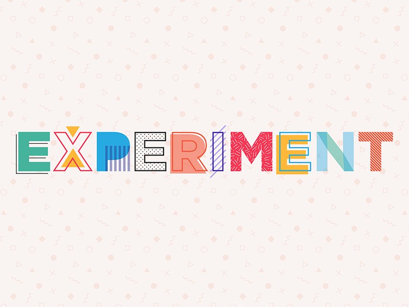 Experiment adobe illustrator graphic design type typography