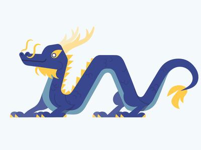 Vector Dragons - Chinese Dragon