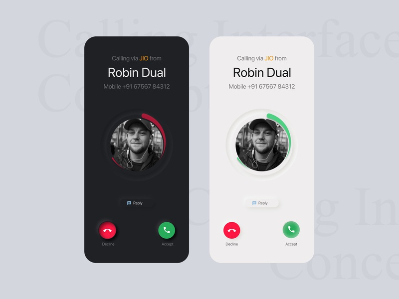 Calling Interface Concept 2
